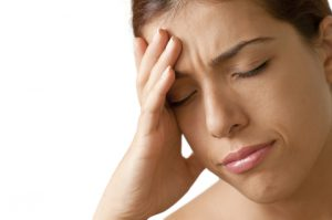 Spændinger i nakken kan give hovedpine